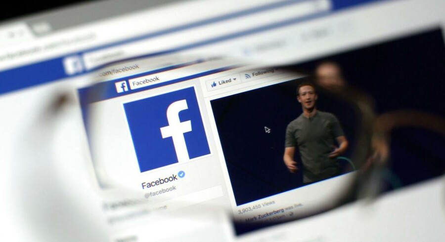 Facebook overraskede analytikerne positivt. Arkivfoto.