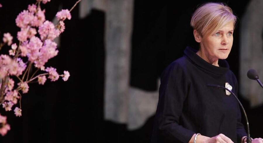 Kulturminister Mette Bock - på kulturtur til Japan.