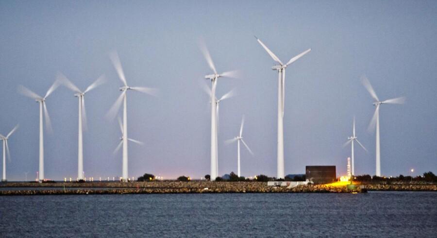 Arkivfoto. Hvis intet gøres politisk, misser Danmark regeringens målsætning om 50 procent vedvarende energi i 2030.
