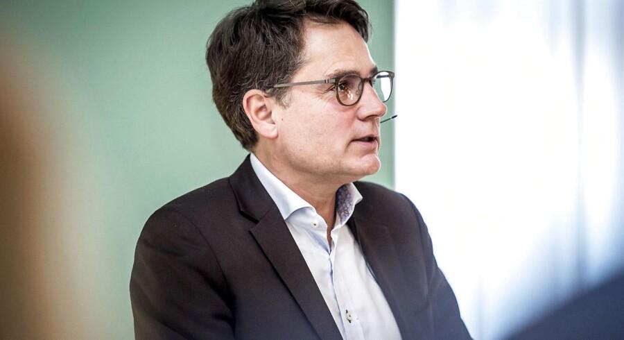 Erhvervs- og vækstminister Brian Mikkelsen (K) til arrangement på Christiansborg mandag den 5. februar 2018. Regeringens bestræbelser på at skabe flere iværksættere giver ikke nødvendigvis tilsvarende mange job, viser rapport. (Foto: Mads Claus Rasmussen/Scanpix 2018)