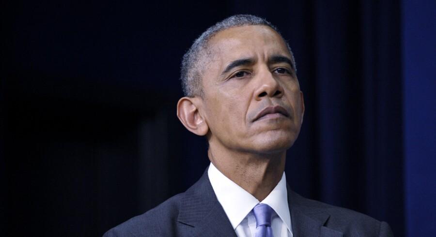 Obama har lidt et udenrigspolitisk nederlag. Foto: AFP