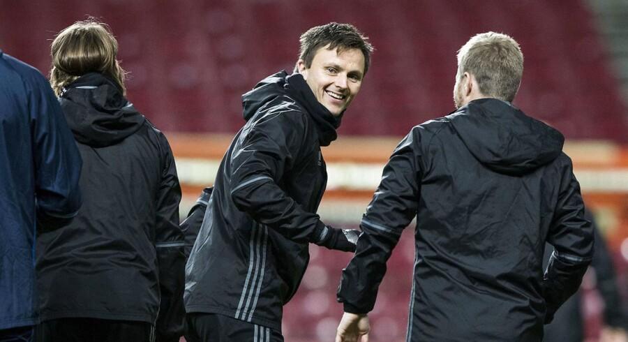 FC København har valgt at lade William Kvist, Andrija Pavlovic og Rasmus Falk starte på bænken mod Zlín.