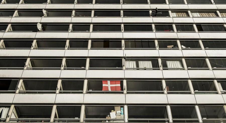 Lars Løkke varsler et opgør med landets ghettoer. Arkivfoto fra Vollsmose.