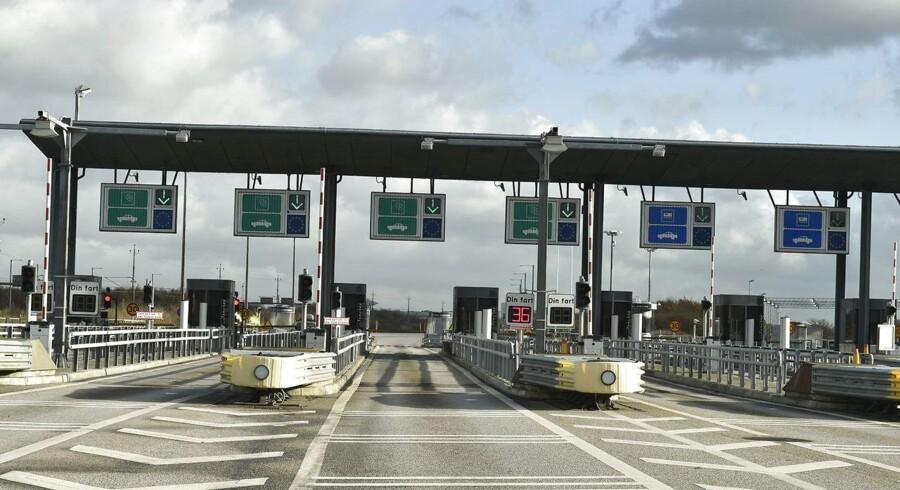 Sidste år blev der sat rekord for antallet af køretøjer, der benyttede Øresundsbroen.