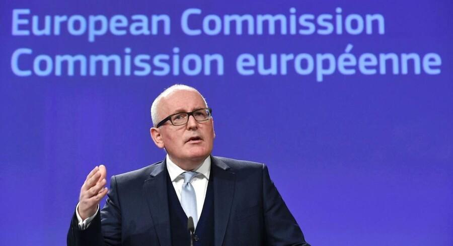 Arkivfoto. Det er kun få måneder siden, at både EU-Kommissionen og et flertal af EU-landene pressede på for stærkere muligheder for handelsbarrierer over for først og fremmest kinesiske produkter, som sendes på det europæiske marked til dumpingpriser.