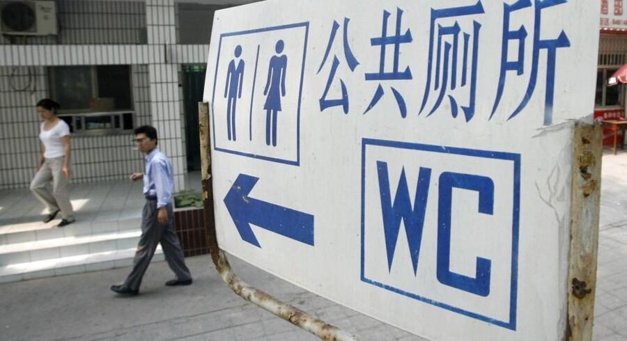 Arkivfoto: Kinas præsident Xi stiller sig i spidsen for at revolutionere Kinas uhumske offentlige toiletter.