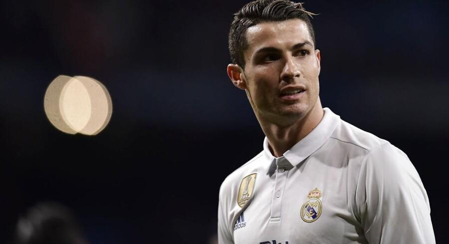 Arkivfoto. Ifølge Der Spiegel betalte Cristiano Ronaldo 375.000 dollar i et forlig, efter han blev anmeldt for voldtægt.