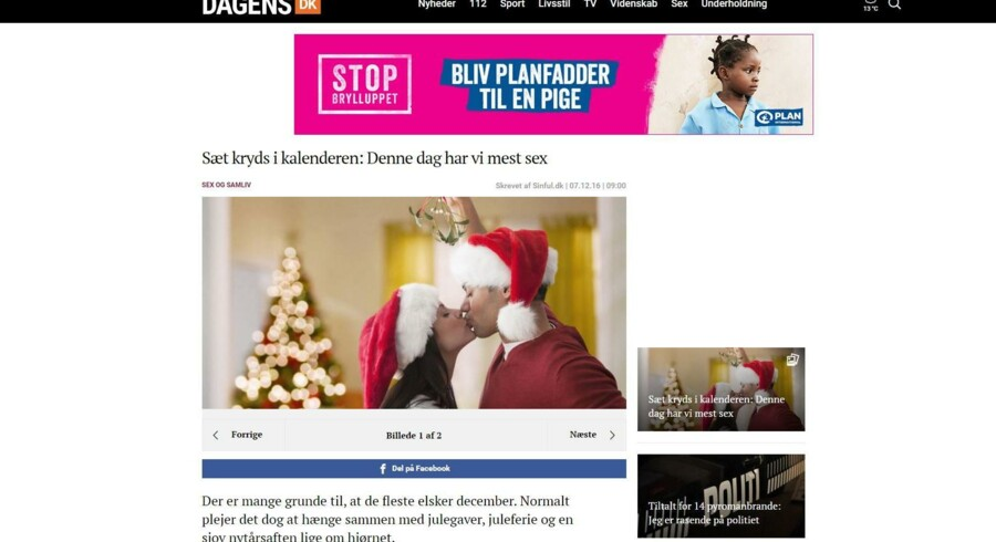 Dagens.dk er begæret konkurs, og medarbejderne er blevet opsagt. Det ærger tillidsrepræsentanten Marie Milling. Fotoet er et screenshot fra Dagens.dk.