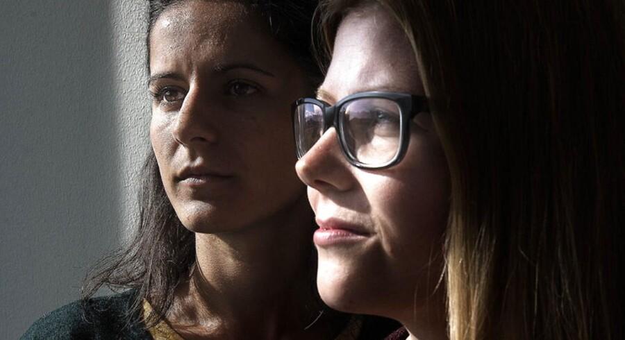 Raluca fra Rumænien (tv) har studeret på DTU og Lise fra Danmark (th) har læst på Cambridge.De er begge eksempler på, at det har været en succes at studere i udlandet, og begge er ansat i virksomheden Niras efter deres ophold.
