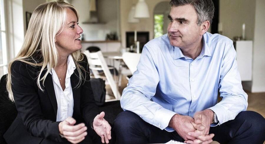Pernille Vermund og Peter Seier Christensen har stiftet Nye Borgerlige.