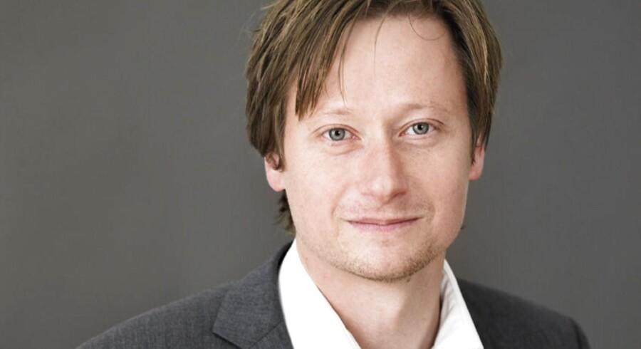 Cheføkonom Erik Bjørsted Arbejderbevægelsens Erhvervsråd (AE). Arkivfoto.