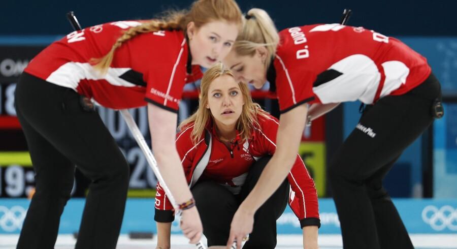 Danmark missede et par vigtige sten i nederlaget mod Japan. Reuters/Cathal Mcnaughton