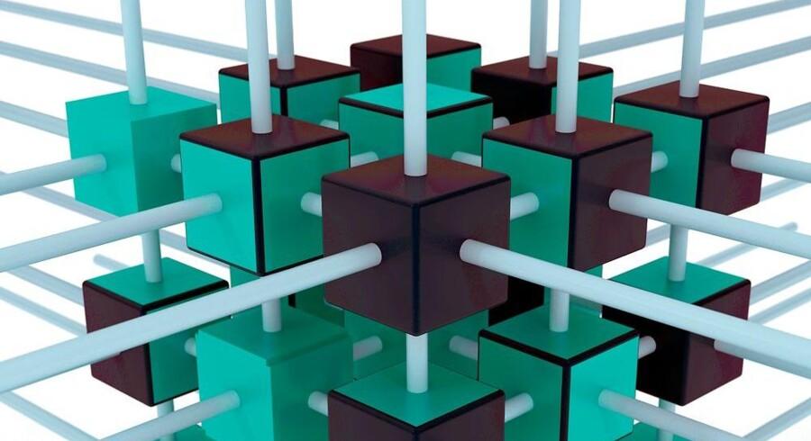 En kvantecomputer kan foretage langt mere avancerede beregninger end en traditionel computer, der kun forstår nuller og ettaller. Kvantecomputeren arbejder med kvantebits, og med tilstrækkeligt mange af dem kan der løses meget store opgaver - på helt nye områder. Arkivfoto: Iris/Scanpix