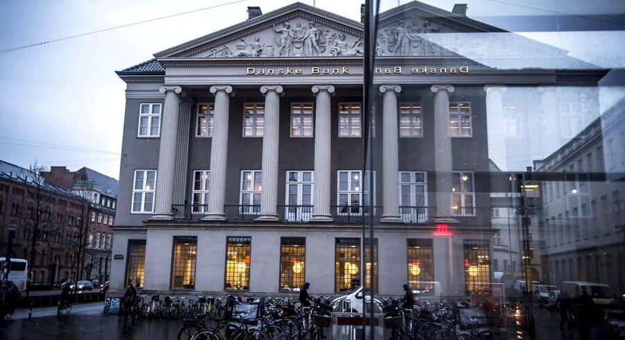 Danske Bank har flere gange tilbageholdt vigtige oplysninger om den formodede hvidvask og højrisikable kunder i bankens estiske filial fra de estiske og danske tilsynsmyndigheder. (Foto: Mads Claus Rasmussen/Ritzau Scanpix)