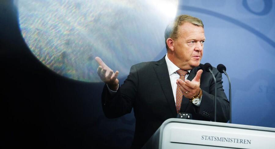 Ifølge statsminister Lars Løkke Rasmussen (V) skaber regeringens helhedsplan »et stærkere Danmark«. De offentligt ansattes organisationer kunne ikke være mere uenige. Foto: Ólafur Steinar Gestsson