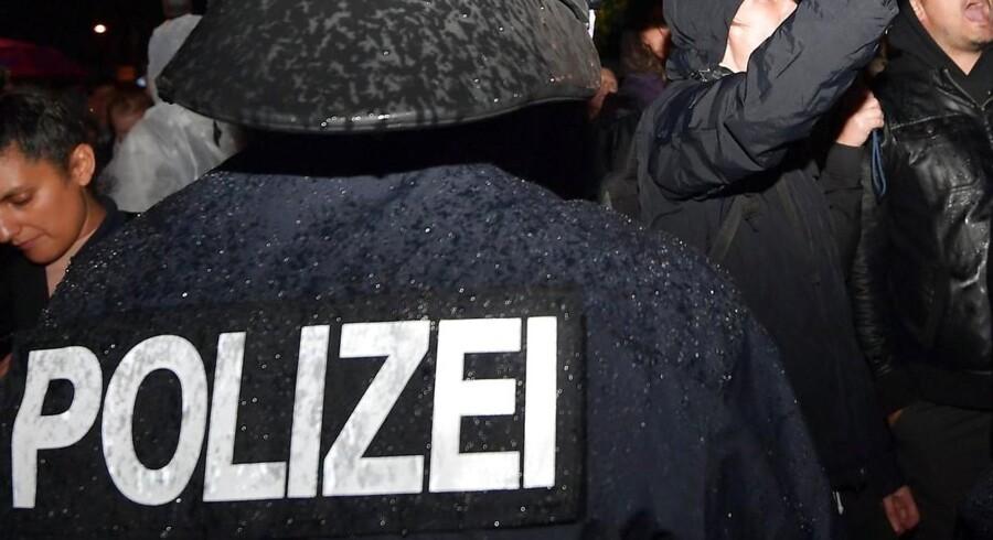 Arkivfoto: En anholdt 19-årig syrer havde ifølge tysk politi planlagt et bombeangreb, som skulle dræbe mange mennesker.