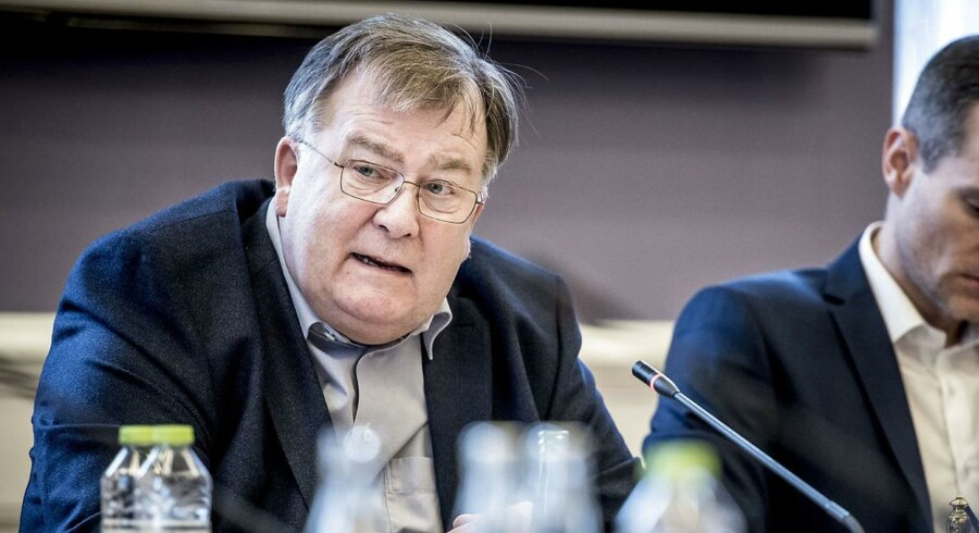 Forsvarsminister Claus Hjort Frederiksen (V).