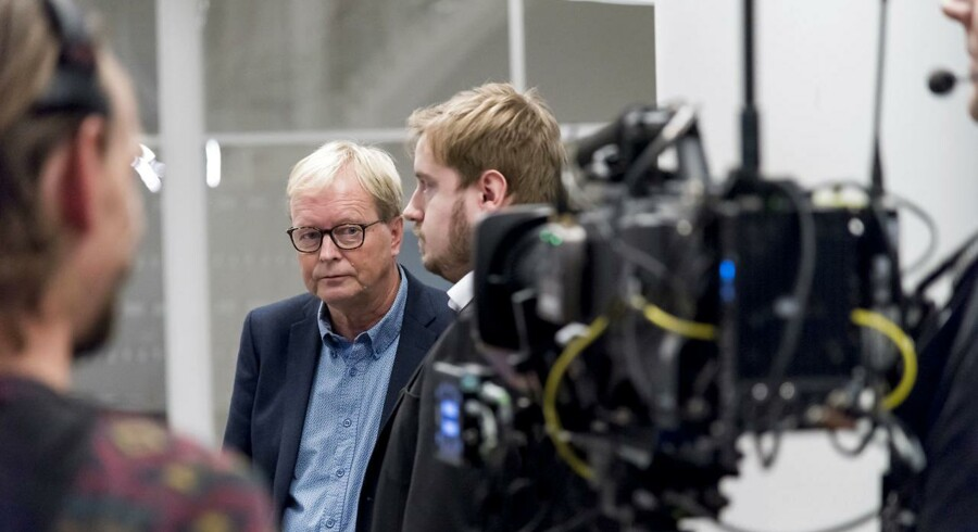 Ulrik Wilbek på rådhuset i Viborg under Regions- og Kommunalvalget 2017, tirsdag den 21. november 2017 Foto: Morten Dueholm