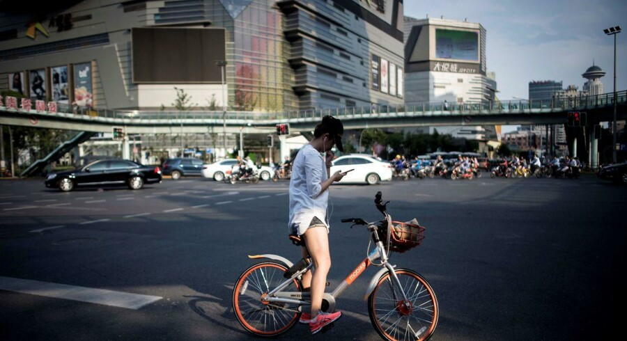 Arkivfoto. Kina er i gang med at ændre Made in China til Invented in China. Og Shanghai bliver kaldt det nye Silicon Valley, der både suger hjerner, startups, kapital og private investorer til sig.