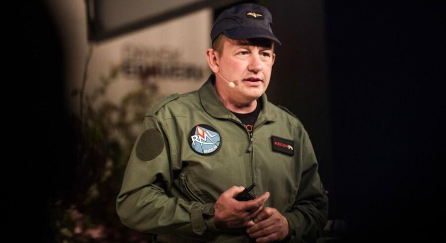 Peter Madsen, ingeniør, raket- og ubådsbygger.