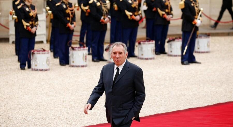 En af de nye ministre bliver 65-årige François Bayrou, der tiltræder som justitsminister.