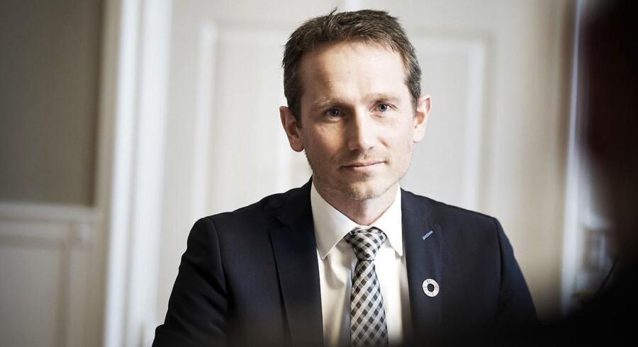 Finansministerren Kristian Jensen.