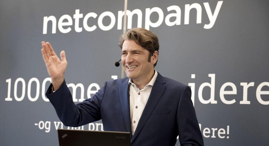 Arkivfoto: Administrerende direktør i Netcompany, André Rogaczewski.