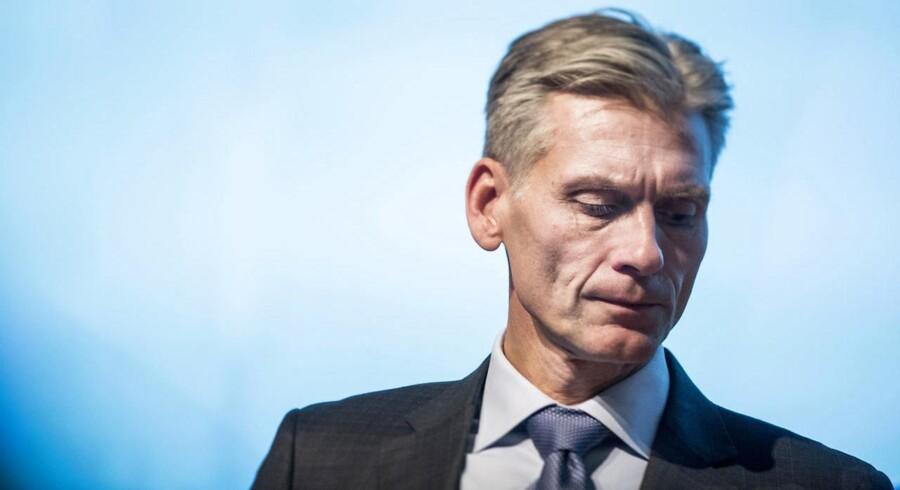 Thomas F. Borgen, topchef i Danske Bank.