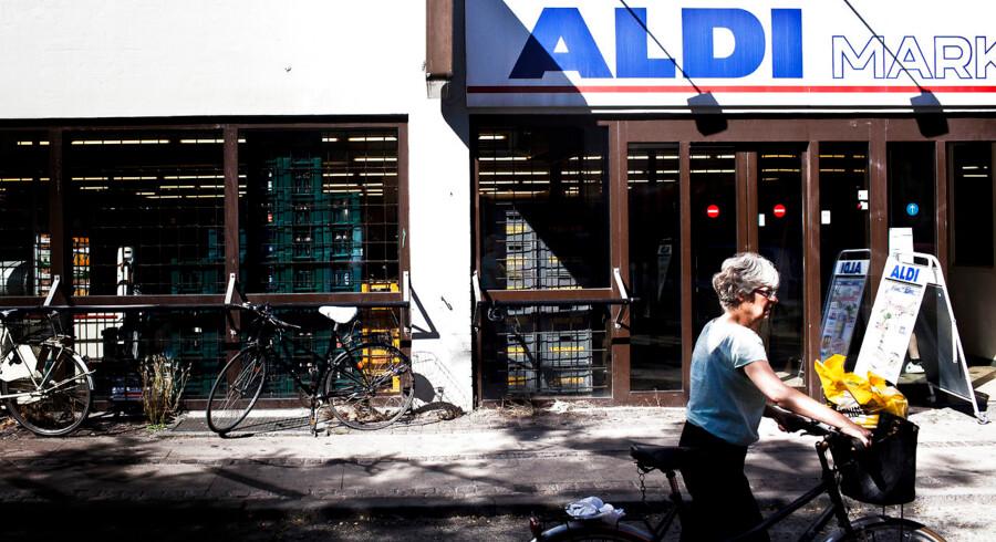 Situationen ser mere og mere håbløs ud for Aldi i Danmark. Her er det Aldi på Gothersgade