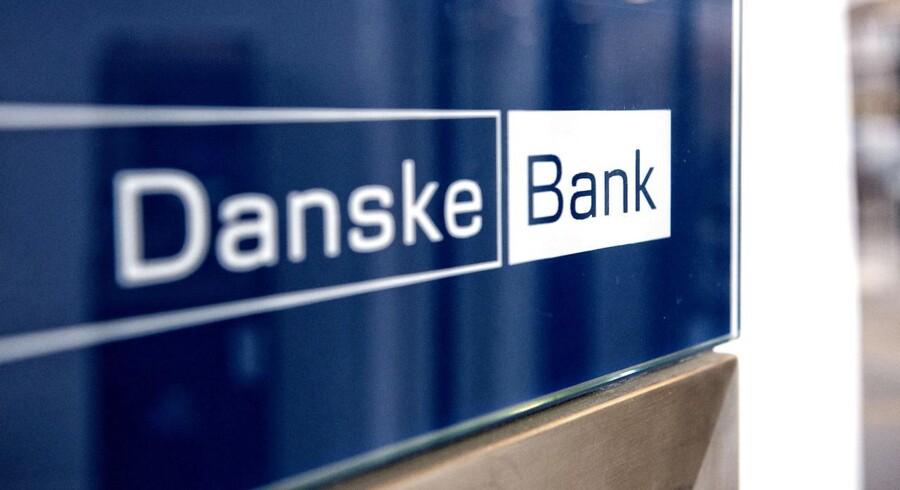 (ARKIV) Danske Bank logo 23. januar 2014.Pensionsselskabet, der er ejet af Danske Bank, har købt SEB Pension for 6, 5 milliarder danske kroner. Sælgeren er den svenske bankkoncern SEB Bank.. Det skriver Ritzau, torsdag den 14. december 2017.. (Foto: Jens Nørgaard Larsen/Scanpix 2017)