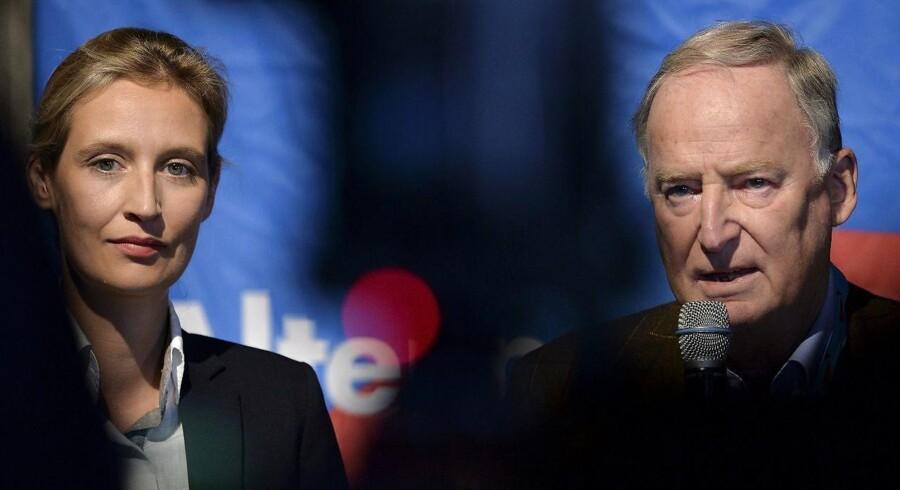 På weekendens dramatisk partidag i Köln blev Alexander Gauland og Alice Weidel kåret som spidskandidater for de tyske indvandringskritikere i Alternative für Deutschland. Dermed har partiets højrefløj vundet en afgørende sejr.