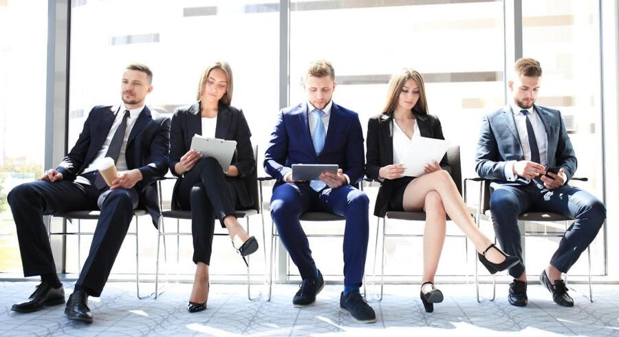 Over hver tiende forventer at søge nyt job. Foto: Iris.