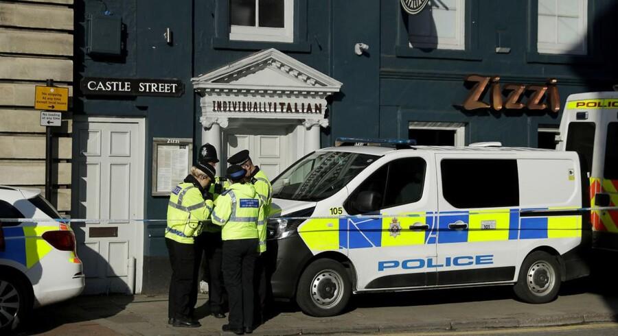 Det britiske politi siger ifølge AFP, at en tidligere russisk spion var offer for et drabsforsøg med nervegas i den engelske by Salisbury. (Foto: Matt Dunham/Scanpix 2018)