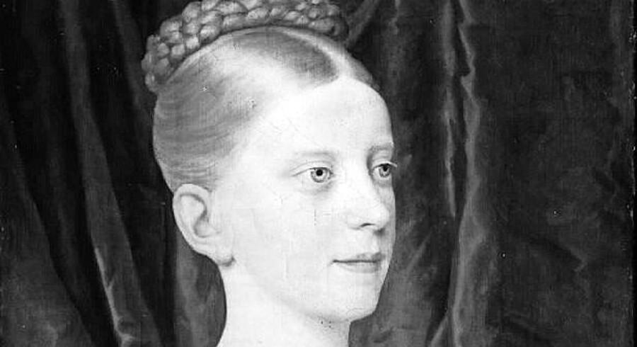 C.W. Eckersberg (1783-1853), Prinsesse Wilhelmine, Frederik VI's datter, 1819.