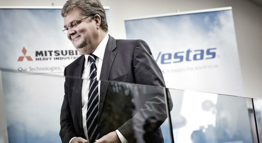 Vestas' topchef Anders Runevad kan se tilbage på en uge, hvor vindmølleaktien har været ramt af store udsving.