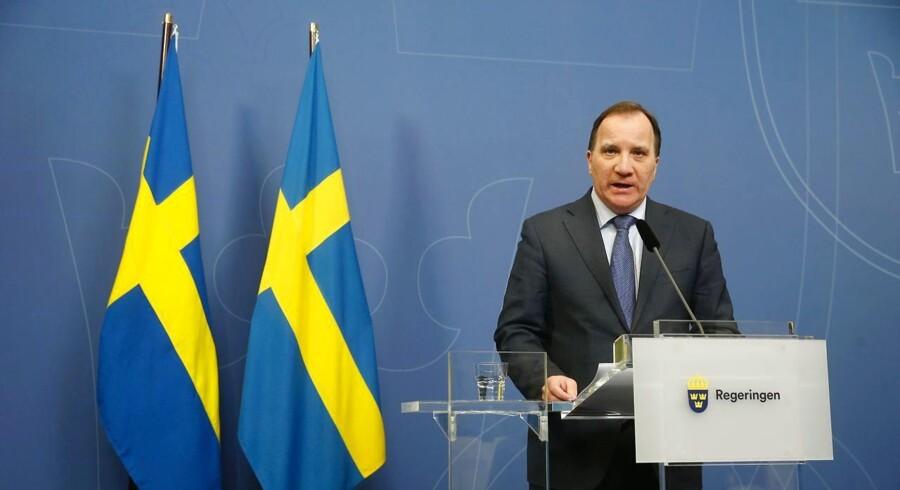 De borgerlige har provokeret regeringen med deres mistillidsvotum, og det er stærkt usandsynligt, at man kan finde en blokoverskridende løsning, mener ekspert. Foto: Fredrik Persson