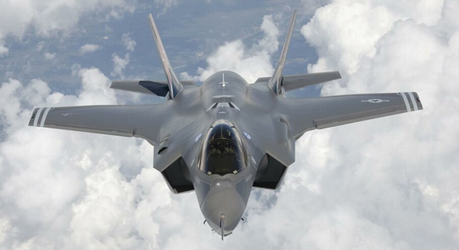 ARKIVFOTO: Joint Strike Fighter F-35A.