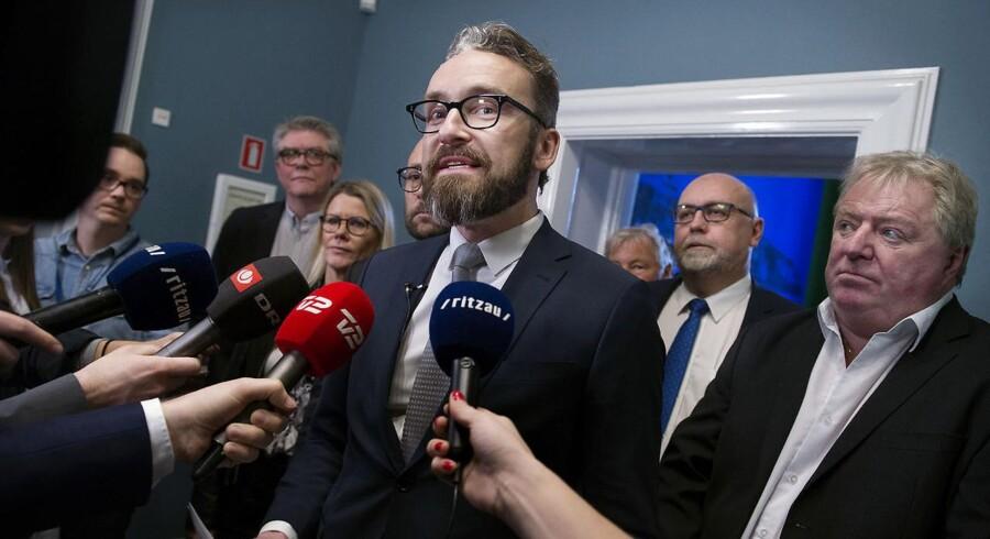 Transportminister Ole Birk Olesen: Foto: Liselotte Sabroe/Scanpix 2017