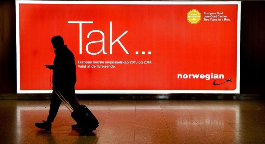 ARKIVFOTO 2015 Københavns Lufthavn - Norwegians