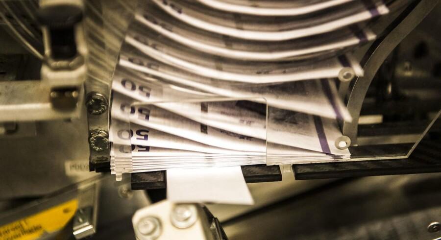 Arkivfoto. Danmarks overskud på handelsbalancen udgjorde 7,5 mia. kr. sæsonkorrigeret i januar.