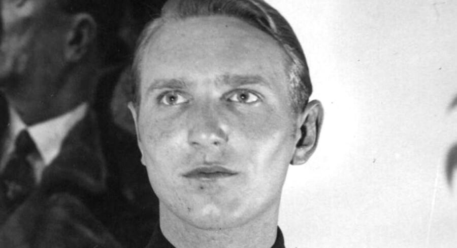 Søren Kam som han så ud under krigen 1939-45. Arkivfoto: Scanpix