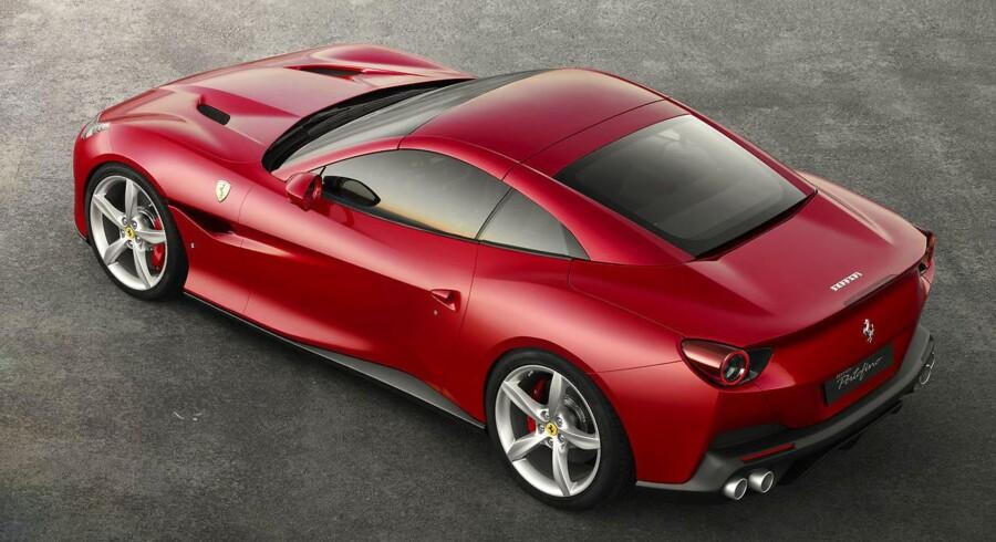 Farvel til California og velkommen til Portofino. Ferraris rejsesportsvogn for to kommer i ny udgave