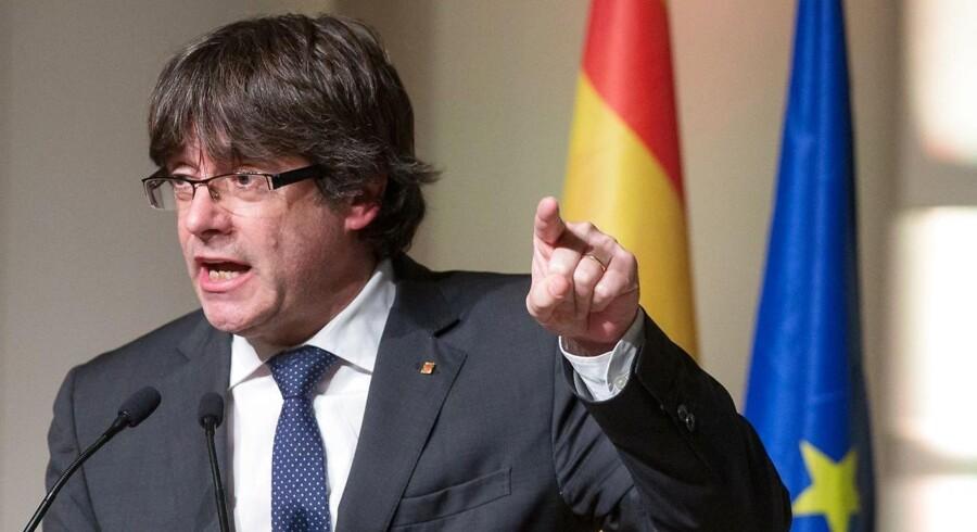 Arkivfoto. Puigdemont er ankommet Justitspalæet i den belgiske hovedstad, siger en rådgiver for den catalanske politiker.