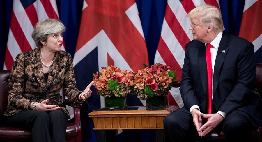 Hans besøg har været ventet i langt over et år, efter premierminister Theresa May var den første udenlandske leder til at besøge Trump få dage efter hans indsættelse som præsident i januar 2017.