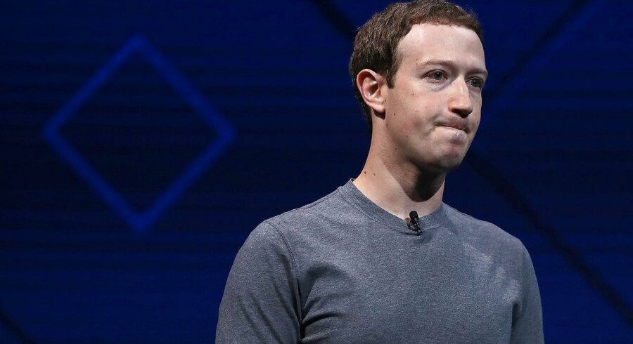 Facebooks stifter og topchef, Mark Zuckerberg.