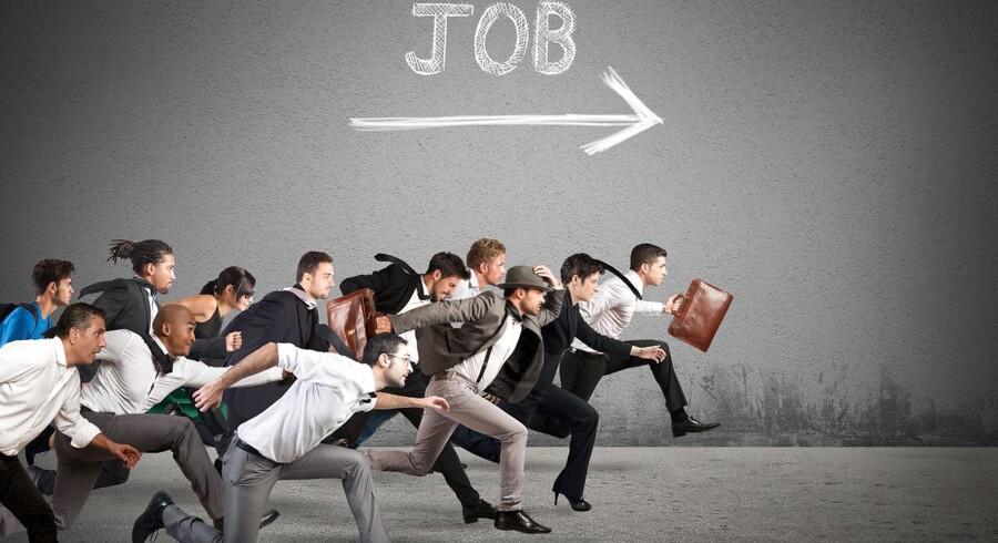 Arkivfoto. Der kommer flere lønmodtagere på arbejdsmarkedet. I november var der 6000 flere end måneden før.