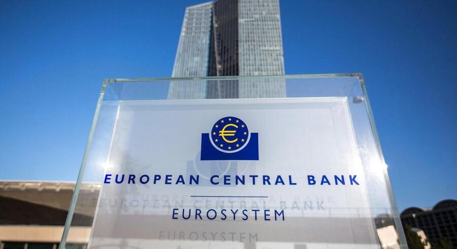 ARKIVFOTO: Den Europæiske Centralbank (ECB