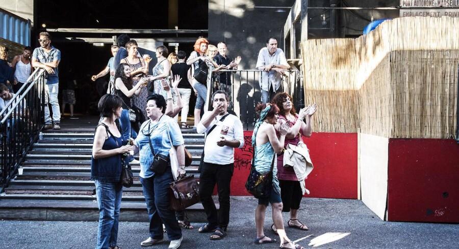 Parlamentsvalg, Marseille. Mélenchons valgfest.