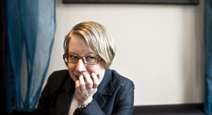 Den svenske krimidebutant Kristina Ohlsson gider ikke at læse krimier skrevet af kvinder og vil for alt i verden ikke vil kaldes feminist.