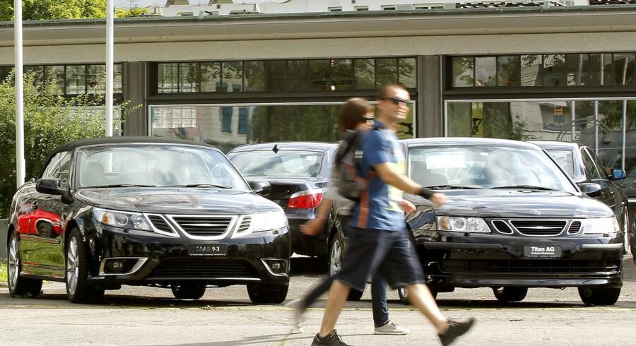 Produktionen hos Saab har længe stået stille, da det ikke har været muligt for fabrikken at sikre leverancer fra underleverandører.